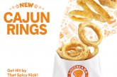Popeyes brings the spice with new Cajun Rings