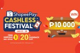 Top Up and Transfer for a Chance to Win PHP10,000 at the ShopeePay Cashless Festival