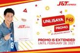 J&T Express Unli Saya promo extended till February 28, 2021
