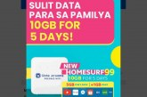 HOMESURF99: Mas sulit na internet mula sa Globe At Home Prepaid WiFi para sa masang Pinoy