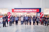 Handyman opens 177th store in LIMA Exchange, Batangas