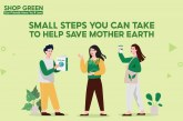 Shopee's Shop Green Sale: Small steps you can take to help save Mother Earth