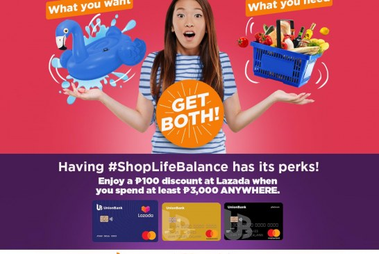 UnionBank launches Spend Anywhere Lazada Promo