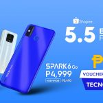 Huge deals and discounts on TECNO Mobile online stores on Lazada and Shopee Mall from May 1 to 5