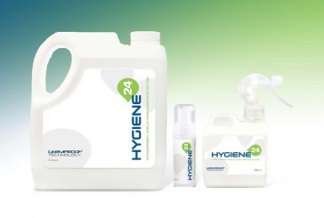 Get 24-hour protection against harmful organisms with Hygiene 24