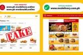 BEWARE! Fraudulent McDonald's delivery website