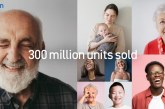 Worldwide sales of OMRON blood pressure monitors tops 300 million units